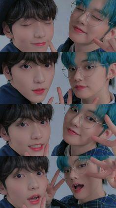 © by aephithelieum – Kpop 2020 Trend Kpop Couples, Korean People, Kawaii, K Idols, Bts Wallpaper, Photo Cards, Boy Groups, Entertaining, Fandom