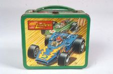 Johnny Lightning Lunch Box: Johnny Lightning was a die cast model car brand manufactured from 1969-1971 and 1994-present.