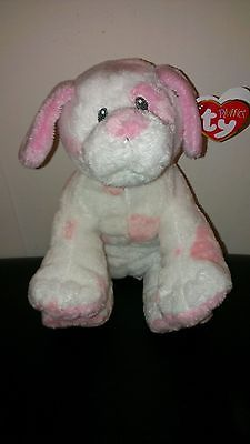 TY Baby Pups Pink Pluffies Plush Spots 2009