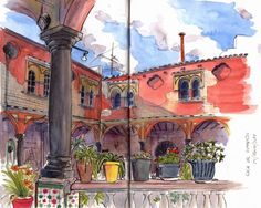 Urban Sketchers Spain. El mundo dibujo a dibujo.: Sevilla