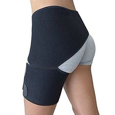 Amazon.com : Hip Brace - Groin Support for Sciatica Pain Relief Thigh Hamstring Quadriceps Hip Arthritis - Best Compression Groin Wrap for Pulled Muscles Hip Flexor Joint Pain - Sciatica brace SI belt Men Women : Sports & Outdoors