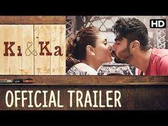 Ki & Ka Official Trailer - Kareena Kapoor, Arjun Kapoor - R. New Upcoming Movies, Hollywood Songs, Bollywood Movie Trailer, Latest Movie Trailers, Film Watch, Movies To Watch Online, Movie Releases, Beautiful Songs, Official Trailer