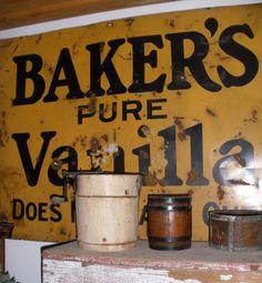 Baker's Sign