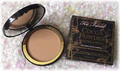 Color Me With Beauty: TOO FACED Cocoa Powder Foundation - Because a girl cannot resist chocolate Powder Foundation, Rose Petals, Cocoa, Canning, Chocolate, Makeup, Face, Beauty, Make Up