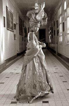 "DYNAMIC AFRICA — In Photos: ""Signares"" byFabrice Monteiro. ..."