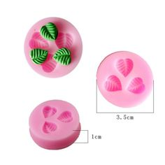 Free shipping Silicone 2015 1pcs Three Leaf leaves Cake Mould Fondant Soap Mould silicone mold cooking tools 50-69