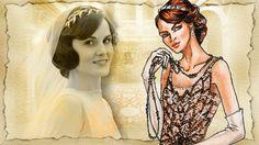lady mary costume downton abbey | Michelle Dockery/ Lady Mary Crawley, Downton Abbey,1920s fashion ...