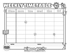 Tag @kidoodletv on Instagram with your customized calendars to get featured! Custom Calendar, Adobe Acrobat, Activity Sheets, Coloring Sheets, Some Fun, Fun Activities, Printables, Tv, Instagram