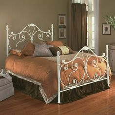 White Iron Bed Frame....another color option