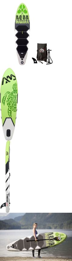 Stand Up Paddleboards 177504: Aqua Marina Thrive 9 9 (6 Thick) Inflatable Stand Up Paddle Board W Paddle -> BUY IT NOW ONLY: $299.95 on eBay!