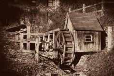Water Wheel at Penn State Mont Alto Old Grist Mill, Water Wheels, Water Mill, State College, View Image, Old Photos, Abandoned, Adventure, House Styles