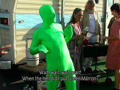 Green Man!