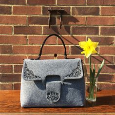 Hey, I found this really awesome Etsy listing at https://www.etsy.com/listing/286466473/felt-handbag-womans-handbag-gift-for-her