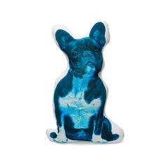 Cushion Co French Bulldog Blue shaped pillow French Bulldog Blue, Dog Portraits, Coloring For Kids, Snuggles, All The Colors, Happy Shopping, Decorative Pillows, Lion Sculpture, Cushions