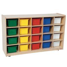 Demco.com - Wood Designs™ Mobile Storage Cubbies  ~ Nicole