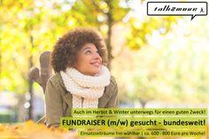 Auch im Herbst & Winter unterwegs für einen guten Zweck! JETZT #Fundraiser werden! #talk2move #Herbstjob #Winterjob #Nebenjob #Ferienjob #NGO #Team #Verstärkung #Studentenjob #Übergangsjob #bewerben #kunterbunt