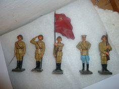 5 russische Offiziere der 7,5cm Serie, kein LINEOL | eBay