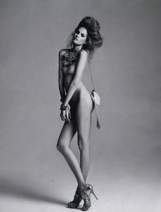 Fashion models nude