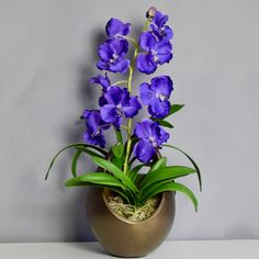 Large selection of Artificial Flowers & Plants. Choose from a range of Artificial Flowers & Plants. Faux Flowers, Artificial Orchids, and Silk Flowers. Artificial Flowers And Plants, Artificial Flower Arrangements, Artificial Silk Flowers, Vanda Orchids, Orchid Arrangements, Gold Vases, Faux Flowers, Shapes, Purple