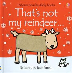 Buy That's Not My Reindeer by Fiona Watt, Rachel Wells from Waterstones today! Click and Collect from your local Waterstones or get FREE UK delivery on orders over Penguin Books, Fiona Watt, Christmas Books For Kids, Christmas Movies, Bright Pictures, Book Publishing, Book Lists, The Book, Christmas Books