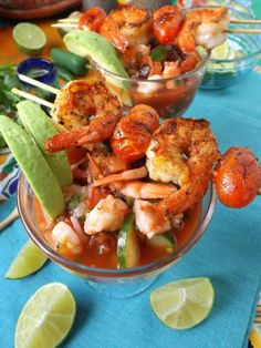 I Can't Cook For My Hispanic Husband - Useful Articles Shrimp Appetizers, Yummy Appetizers, Appetizer Recipes, Shrimp Dishes, Fish Recipes, Seafood Recipes, Mexican Food Recipes, Pozole, Cocktail