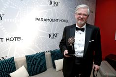 Writer Christopher Durang, winner of Best Play for 'Vanya and Sonia and Masha and Spike'