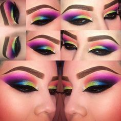 Must try this with my UD Electric palette!