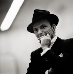 Frank Sinatra, New York City [smiling] | 1stdibs.com