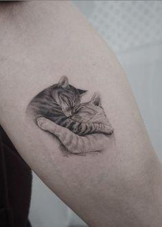 Black Cat Tattoos, Mini Tattoos, Animal Tattoos, Cute Tattoos, Beautiful Tattoos, Body Art Tattoos, Small Tattoos, Sleeve Tattoos, Tatoos