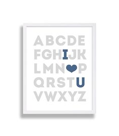 Alphabet Love Nurser
