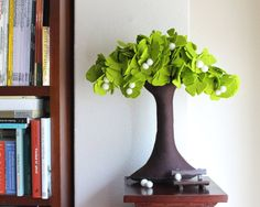 Ginkgo Biloba  Felt Tree by Intres on Etsy, $95.00