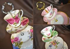 more with a tea cup