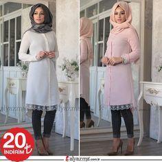 Zarif tasarımı ile Cansu Tunik şimdi İndirimle 150TL yerine 129TL >>Bayram İndirimini Kaçırma !!! >>Whatsapp Sipariş: 90 553 880 2010 >>KARGO BEDAVA #alyazmacomtr #alyazma #tesettür #moda #elbise #tunik #ferace #abiye #style #muslimwear #hijab #instamoda #enşıksensin #clohting #hijabfashion #tesettürelbise #modatasarim #tesetturgiyim #tesettür #tesetturabiye #tesettur #kapidaodeme #alisveris