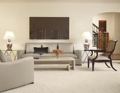 Family and Art  Living Room  Living  Eclectic by Mitchell Channon Design