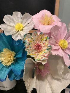 Handmade patriotic crepe paper flowers paper fabric felt flowers handmade crepe paper flowers mightylinksfo