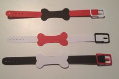Puppy Party Paper Collars by CrimsonSparrowCards on Etsy