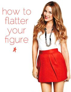 Lauren Conrad's tips on how to flatter your figure