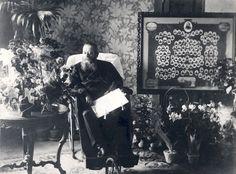 G. A. Serlachius oli 70-vuotissyntymäpäivänään jo sairaalloinen.