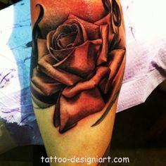 rose tattoo idea image photo picture tattoos art design styles http://www.tattoo-designiart.com/rose-tattoos-designs/rose-tattoo-design-picture-18/