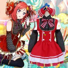 japanese anime halloween costumes Love Live School Idol Project Minami Kotori Princess Lolita Dress Maid Uniform cosplay mujer #Affiliate