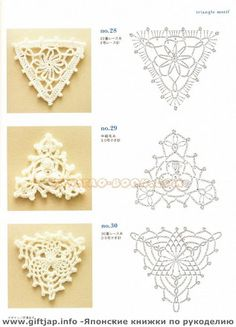 44 Ideas Crochet Granny Square Chart Yarns For 2019 Crochet Diagram, Crochet Motif, Crochet Doilies, Crochet Flowers, Crochet Stitches, Crochet Patterns, Triangle En Crochet, Crochet Squares, Granny Squares