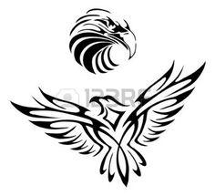 celtique: Tatouage d'un aigle