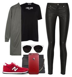"""Sans titre #932"" by khalesse ❤ liked on Polyvore featuring Acne Studios, Givenchy, Zara, Chloé, New Balance and Retrò"