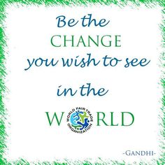 What a great quote from #Gandhi! I would love a better and Fairer world! #FairTrade