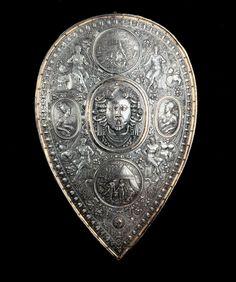 CELLINI, Benvenuto Shield for Francesco I de' Medici c. 1570