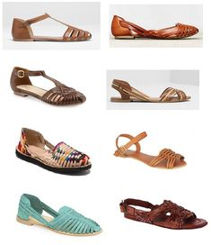 shopping huaraches - versiones low cost
