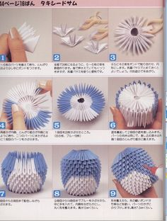 Origami for Everyone – From Beginner to Advanced – DIY Fan 3d Origami Books, Paper Crafts Origami, Diy Origami, Origami Folding, Origami Swan, Origami Fish, Origami Flowers, 3d Origami Tutorial, Origami Instructions