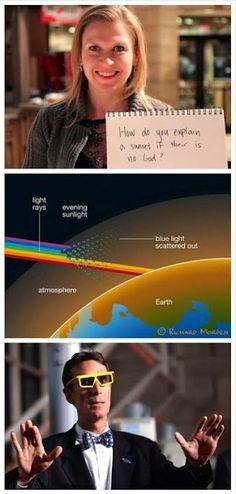 It's science..