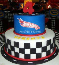 Neato hot wheels cake