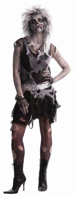 Reina zombie. Más ideas en... http://www.1001consejos.com/15-increibles-disfraces-para-halloween/